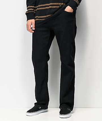 Volcom Modown Black Denim Jeans
