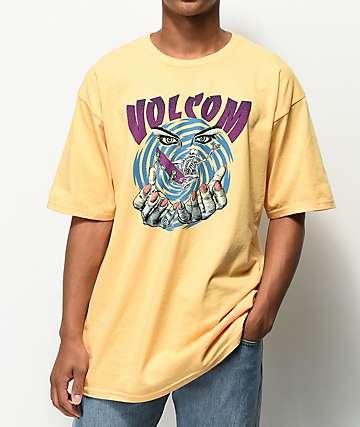 Volcom Mystico camiseta amarilla