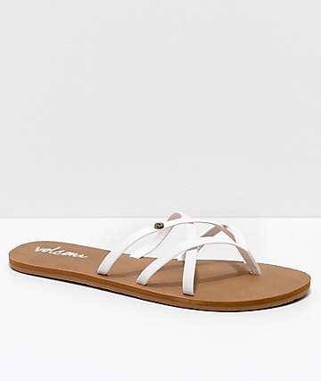 Volcom New School sandalias blancas