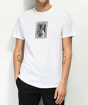 Volcom Peace Off White T-Shirt