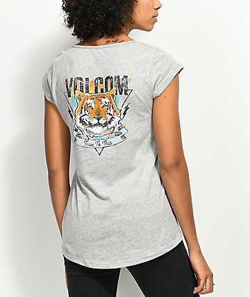 Volcom Radically Rad Grey T-Shirt