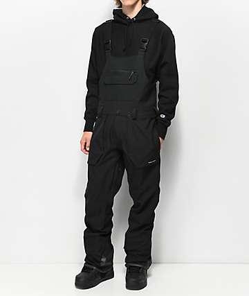 Volcom Roan Black 15K Snowboard Bib Pants