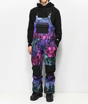 Volcom Roan Multicolor 15K Snowboard Bib Pants