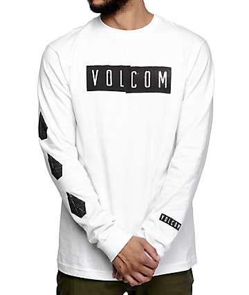 Volcom Shifty White Long Sleeve T-Shirt