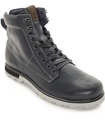 Volcom Smithington Gunmetal Premium Leather Boots