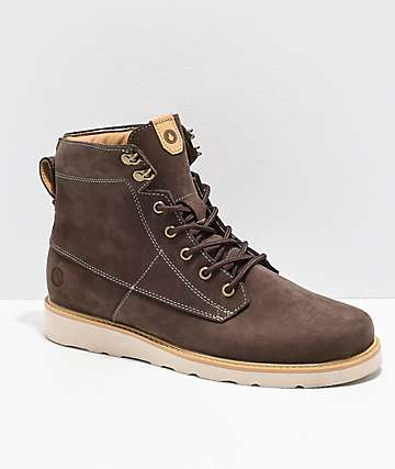 Volcom Smithington II Coffee Brown Vibram Boots