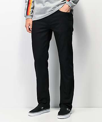 Volcom Solver Black Denim Jeans