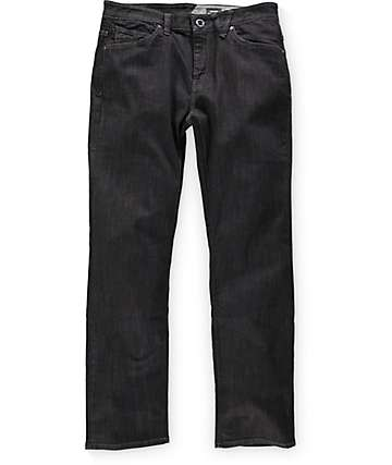 Volcom Solver Black Rinse Jeans