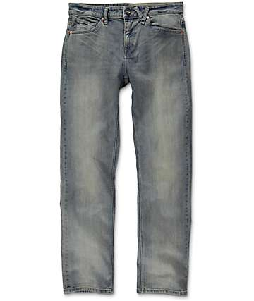 Volcom Solver Heavy Worn Faded jeans modernos