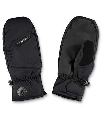 Volcom Stay Dry Black Snowboard Mittens