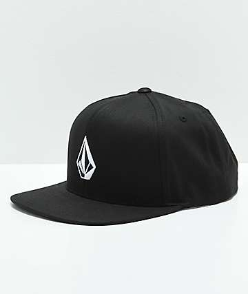 Volcom Stone Black Snapback Hat