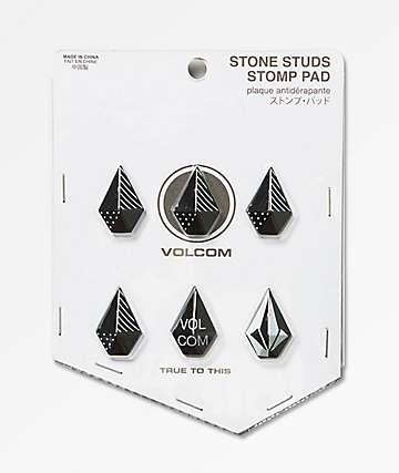 Volcom Stone Studs Black Stomp Pad