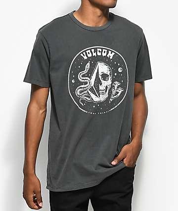 Volcom Stone Trippin camiseta negra