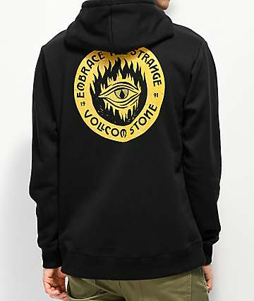 Volcom Supply Stone Strange Black Hoodie