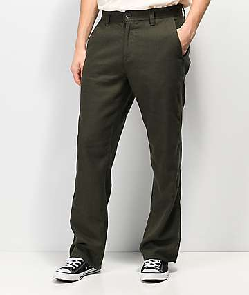 Volcom Thrifter Plus Dark Green Pants