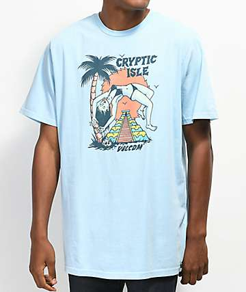 Volcom Tomb Light Blue T-Shirt