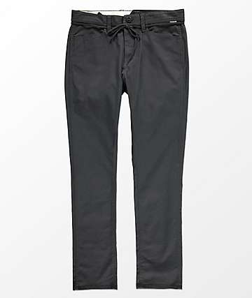Volcom VSM Gritter Modern Tapered Charcoal Chinos