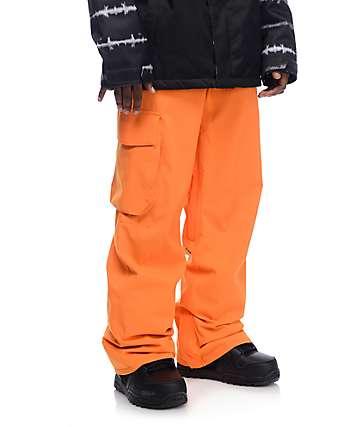 Volcom Ventral pantalones de snowboard 15K calabaza
