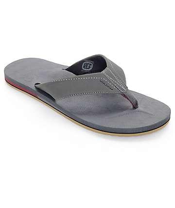 Volcom Victor Dark Grey Sandals