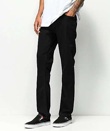 Volcom Vorta Black Out Denim Jeans