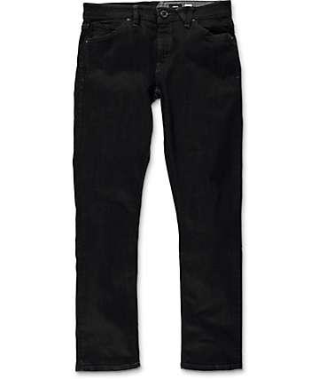 Volcom Vorta Black Rinser Slim Fit Jeans