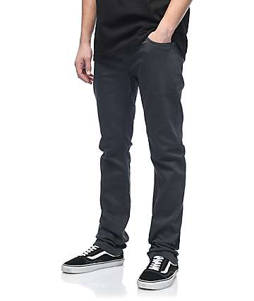 Volcom Vorta Form Smoke Denim Jeans