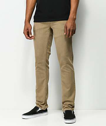 Volcom Vorta Khaki Denim Jeans