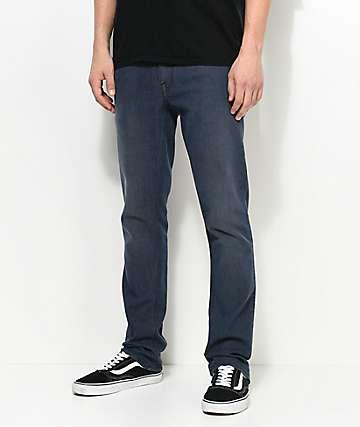 Volcom Vorta jeans adaptados en azul gris