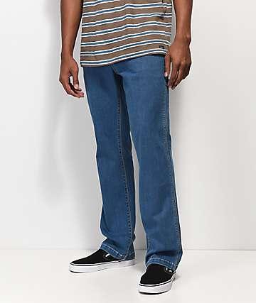 Volcom Whaler jeans de mezclilla azul