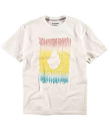 Volcom Wigglystone camiseta blanca para niños