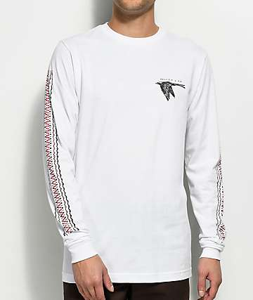 Volcom x Kyle Walker White Long Sleeve T-Shirt