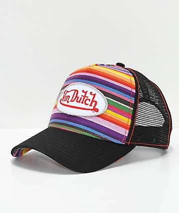 Von Dutch Serape Trucker Hat