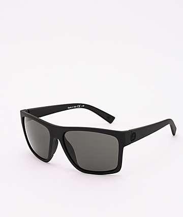 Von Zipper Dipstick Black Satin & Grey Sunglasses