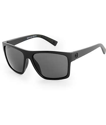Von Zipper Dipstick gafas de sol en negro satén y gris
