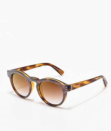 Von Zipper Ditty gafas de sol esmeriladas de carey y oro