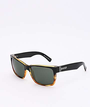 Von Zipper Elmore Hardline Black Tortoise & Vintage Grey Sunglasses
