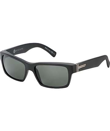 Von Zipper Fulton Black Satin Sunglasses
