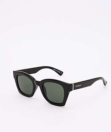 Von Zipper Gabba Black Gloss & Grey Sunglasses