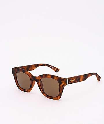 Von Zipper Gabba Vintage Tortoise & Bronze Sunglasses