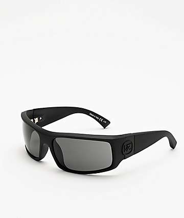 Von Zipper Kickstand Black & Satin Grey Sunglasses
