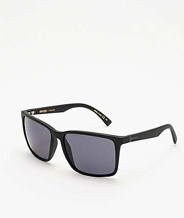 Von Zipper Lesmore Black & Satin Grey Polarized Sunglasses