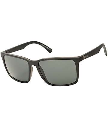 Von Zipper Lesmore Black Satin & Vintage Grey Sunglasses