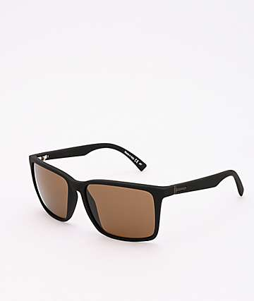 Von Zipper Lesmore Satin Black & Bronze Sunglasses