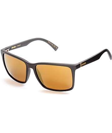 Von Zipper Lesmore gafas de sol polarizadas en negro y color oro