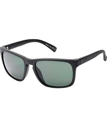 Von Zipper Lomax gafas de sol en negro satén y gris antiguo