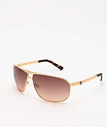 Von Zipper Skitch Gold & Bronze Gradient Sunglasses