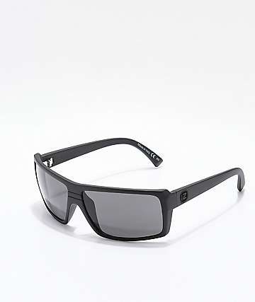 Von Zipper Snark gafas de sol satinadas negras