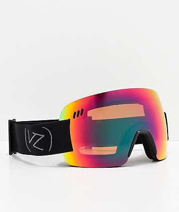 VonZipper Alt XM Wildlife gafas de snowboard de cromo satinado negro