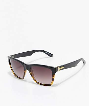 VonZipper Booker Muddled gafas de sol de carey y color negro