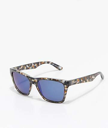 VonZipper Booker Quartz Tortoise & Blue Sunglasses